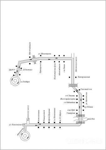 СХЕМА маршрута № 5