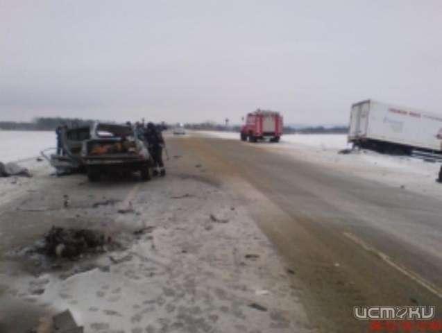 ДТП вОрловской области: Встолкновении иномарки сфурами погибли два человека