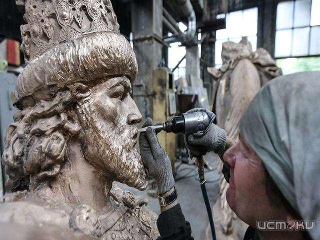 1-ый в Российской Федерации монумент Ивану Грозному появится вАлександровске