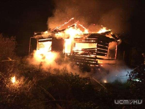 ВДолжанском районе в своем доме сгорела 90-летняя бабушка