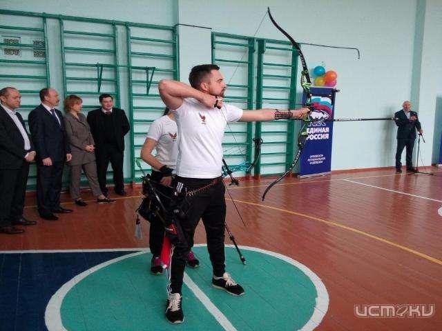 Впоселке Становой Колодезь вшколе после ремонта открыли спортивный зал