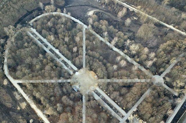 В Орле завершается реконструкция парка Победы. Объект уже прошел приемку, но работы продолжаются