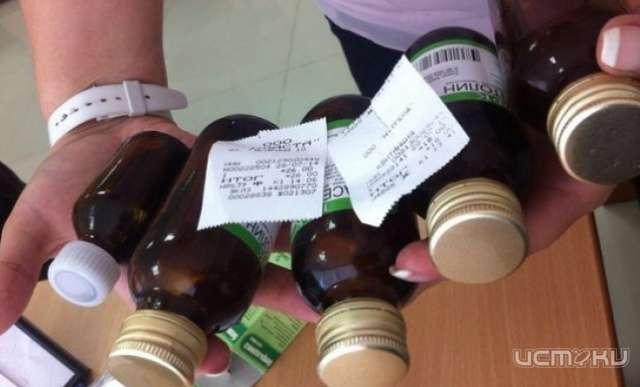 В Орле продолжается незаконная продажа спиртосодержащей непищевой продукции