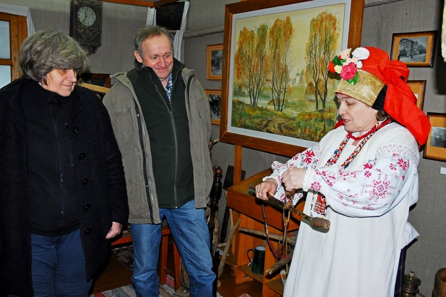 В «Орловском Полесье» побывали польские ученые