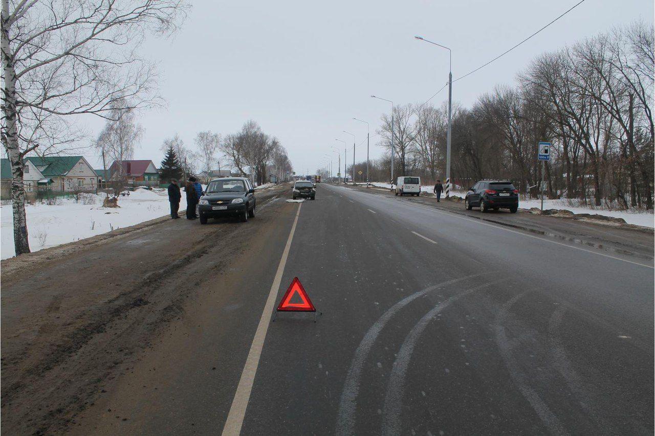 ВДТП под Кромами пострадал пассажир