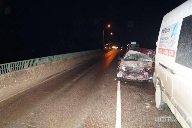 Натрассе М-2 вОрловской области умер шофёр Лады Гранты