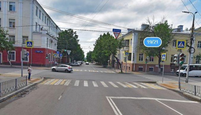 В Орле разрешат поворот на ул. Тургенева с ул. Салтыкова- Щедрина с двух полос движения