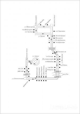 СХЕМА маршрута № 37