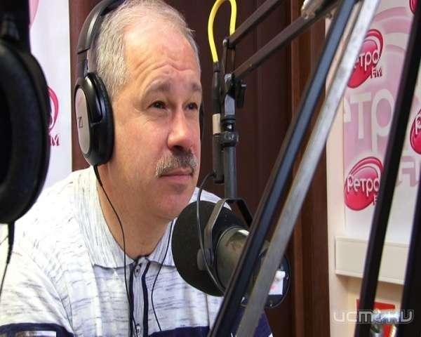 Гостем студии Ретро FM Орел стал Олег Карпиков